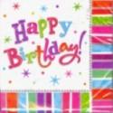 """Geburtstag Deko Servietten """"Radiant Birthday"""""""