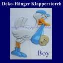 Klapperstorch-Deko-Geburt, Boy-Junge