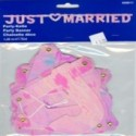 Just Married Banner perlmutt