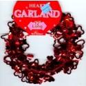 Wire Garland Hearts