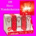 Wunderkerzen Herz, 100 Stück
