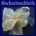 Hochzeitsschleife, Hochzeitsdeko-Zierschleife 05