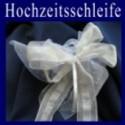 Hochzeitsschleife, Hochzeitsdeko-Zierschleife 06