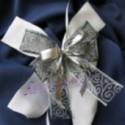 Hochzeitsschleife, Hochzeitsdeko-Zierschleife 11
