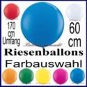 Riesenluftballons 170er Rund 5 Stück