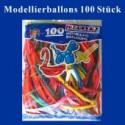 Modellierballons 100 Stück