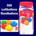 """Luftballons """"Rundballons"""" 500 Stück"""