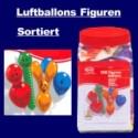 """Luftballons """"Figuren Sortiert"""" 100 Stück"""