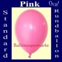 Luftballons Standard R-O 27 cm Pink 10 Stück