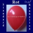 Luftballons Standard R-O 27 cm Rot 10 Stück