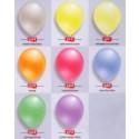 Latexballons Perlmutt 100 Stück, Luftballons Hochzeit in Perlmuttfarben