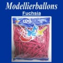 Modellierballons, Fuchsia, 100 Stück