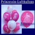 Motiv-Luftballons-Prinzessin