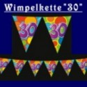 "Wimpelkette ""30"""