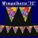 "Wimpelkette ""70"""
