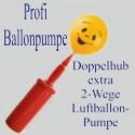 Profi-Ballonpumpe mit Doppelhub