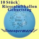 Riesenluftballons-Geburtstag-Happy-Birthday-10 Stück