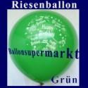 Riesenballon-Geburtstag-Happy-Birthday-Grün-(Helium)