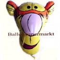Luftballon Tigger, Folienballon mit Ballongas