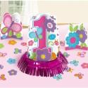 Tischdekorations-Set zum 1. Geburtstag, Mädchen