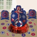 Tischdekorations-Set Anchors Aweigh, Mottoparty-Dekoration Maritim, 23 Teile