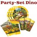 Dinosaurier Party-Set zum Kindergeburtstag, 32 Teile
