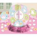 Tischdekorations-Set zur Taufe, Mädchen