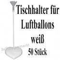 Tischhalter, Tischständer für Luftballons, 50 Stück