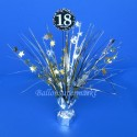 Tischständer Sparkling Celebration 18, Tischdekoration 18. Geburtstag