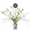 Tischständer Sparkling Celebration 30, Tischdekoration 30. Geburtstag