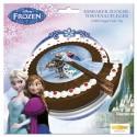 Torten-Dekoration Frozen, Elsa und Anna, völlig unverfroren, die Eiskönigin