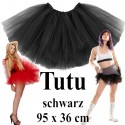 Hen Party TUTU Tüllrock Schwarz