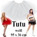 Hen Party TUTU Tüllrock Weiß