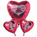 Valentine Bouquet 1 (heliumgefüllt)
