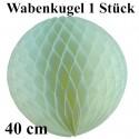 Wabenkugel / Weiß / 40cm