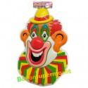Karnevals-Clown mit Hut, Wanddekoration, Bühnendekoration zu Karneval und Fasching