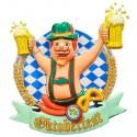 """Oktoberfest Dekoration - Bayrische Wochen Deko-Schild, Werner """"Oktoberfest"""", 45 cm x 46 cm"""