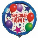 Welcome Home Luftballon mit Helium-Ballongas