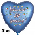 You are so Special, Luftballon mit Ballongas-Helium, Ballongruß