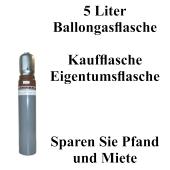 5 Liter Ballongasflasche im Verkauf