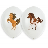 6 Luftballons Beautiful Horses