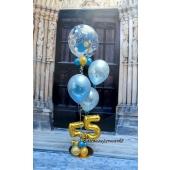 Geburtstags Ballon-Bouquet mit Geburtstagzahl