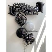 Ballon-Bouquet Elegant Sparkles