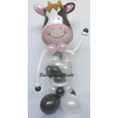 Luftballon-Figur- freundliche Kuh
