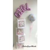 Wunderschöne Deko zur Geburt, Baby Party, Baby Shower