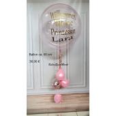 Aqua Luftballon zur Geburt