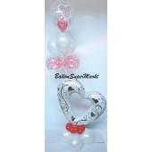 Ballon-Bouquet-Verschlungene Herzen