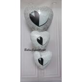 Ballon-Bouquet zur Hochzeit Mr. & Mrs.