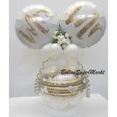 Geschenkballon zur Hochzeit
