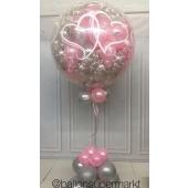 Plopp Luftballon zur Hochzeit ( explodierender Ballon ) mit Beschriftung